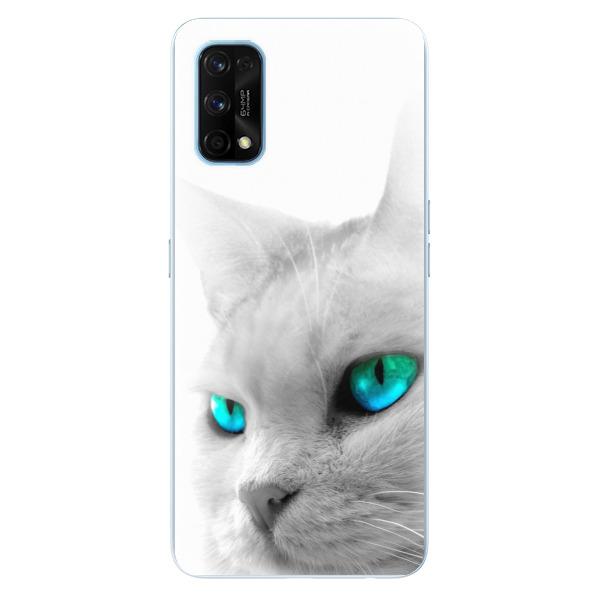 Odolné silikonové pouzdro iSaprio - Cats Eyes - Realme 7 Pro