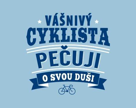 Plechové hrnky - Plecháček - Cyklista