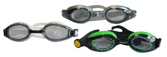 Brýle plavecké závodní silikonové