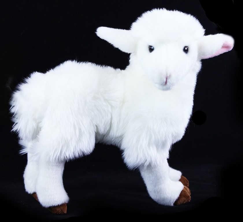PLYŠ Ovce 30cm bílá exkluzivní kolekce *PLYŠOVÉ HRAČKY*