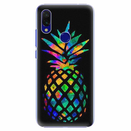 Plastový kryt iSaprio - Rainbow Pineapple - Xiaomi Redmi 7
