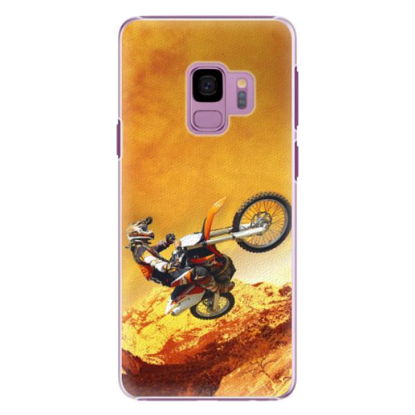 Plastové pouzdro iSaprio - Motocross - Samsung Galaxy S9