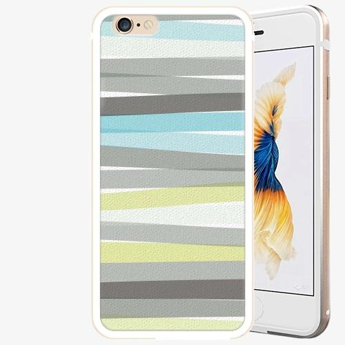 Plastový kryt iSaprio - Stripes - iPhone 6/6S - Gold