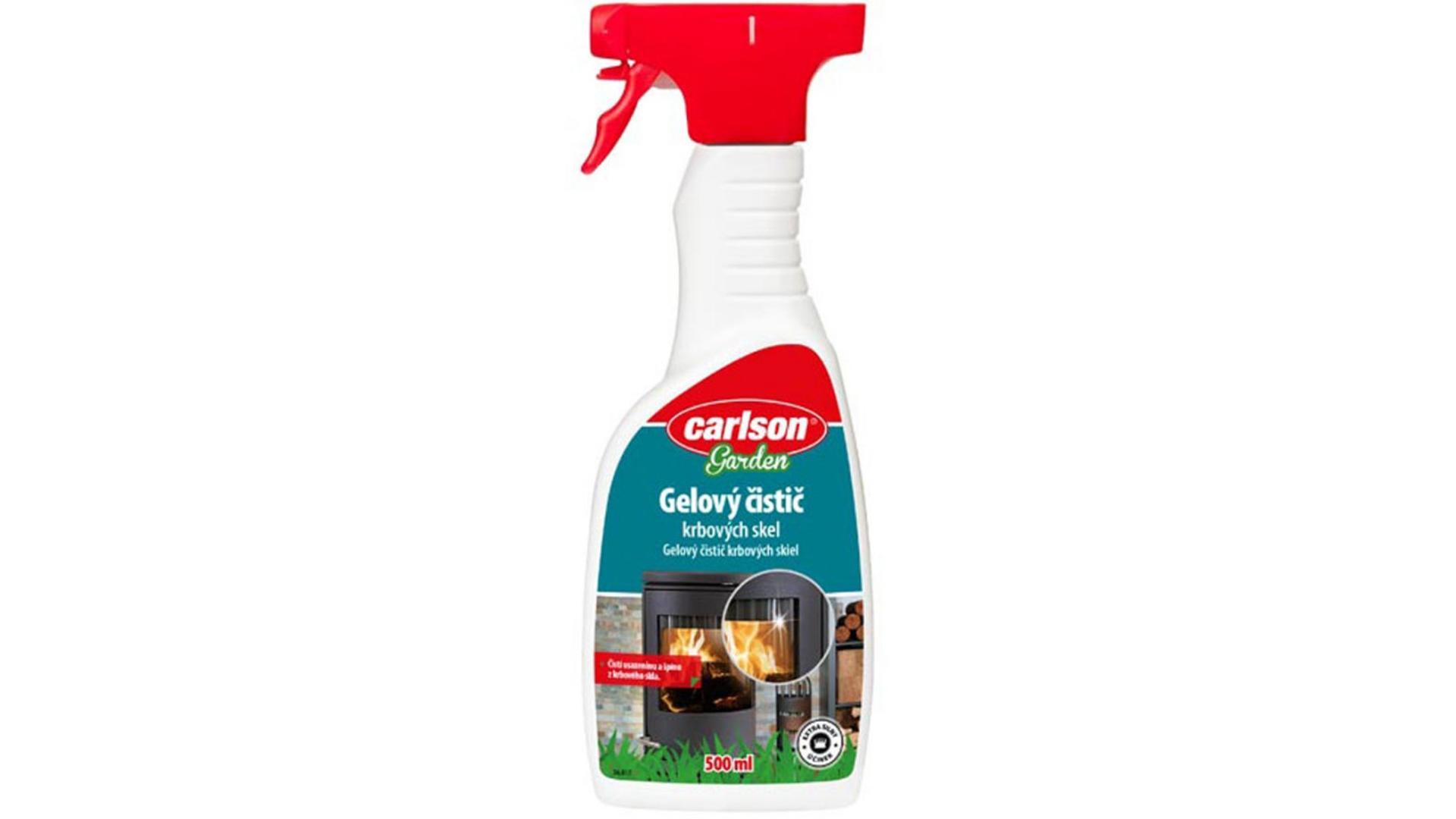 CARLSON gelový čistič krbových skel 500ml