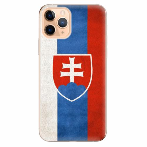 Silikonové pouzdro iSaprio - Slovakia Flag - iPhone 11 Pro