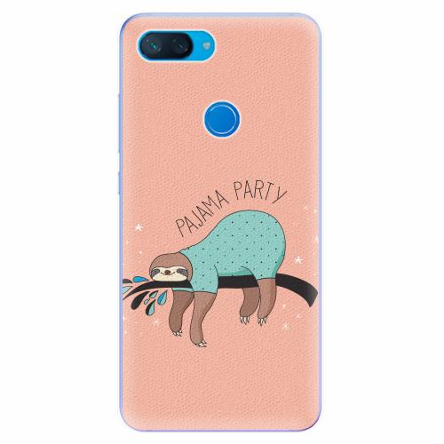 Silikonové pouzdro iSaprio - Pajama Party - Xiaomi Mi 8 Lite