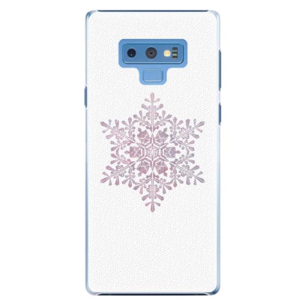 Plastové pouzdro iSaprio - Snow Flake - Samsung Galaxy Note 9