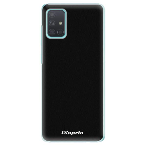 Plastové pouzdro iSaprio - 4Pure - černý - Samsung Galaxy A71