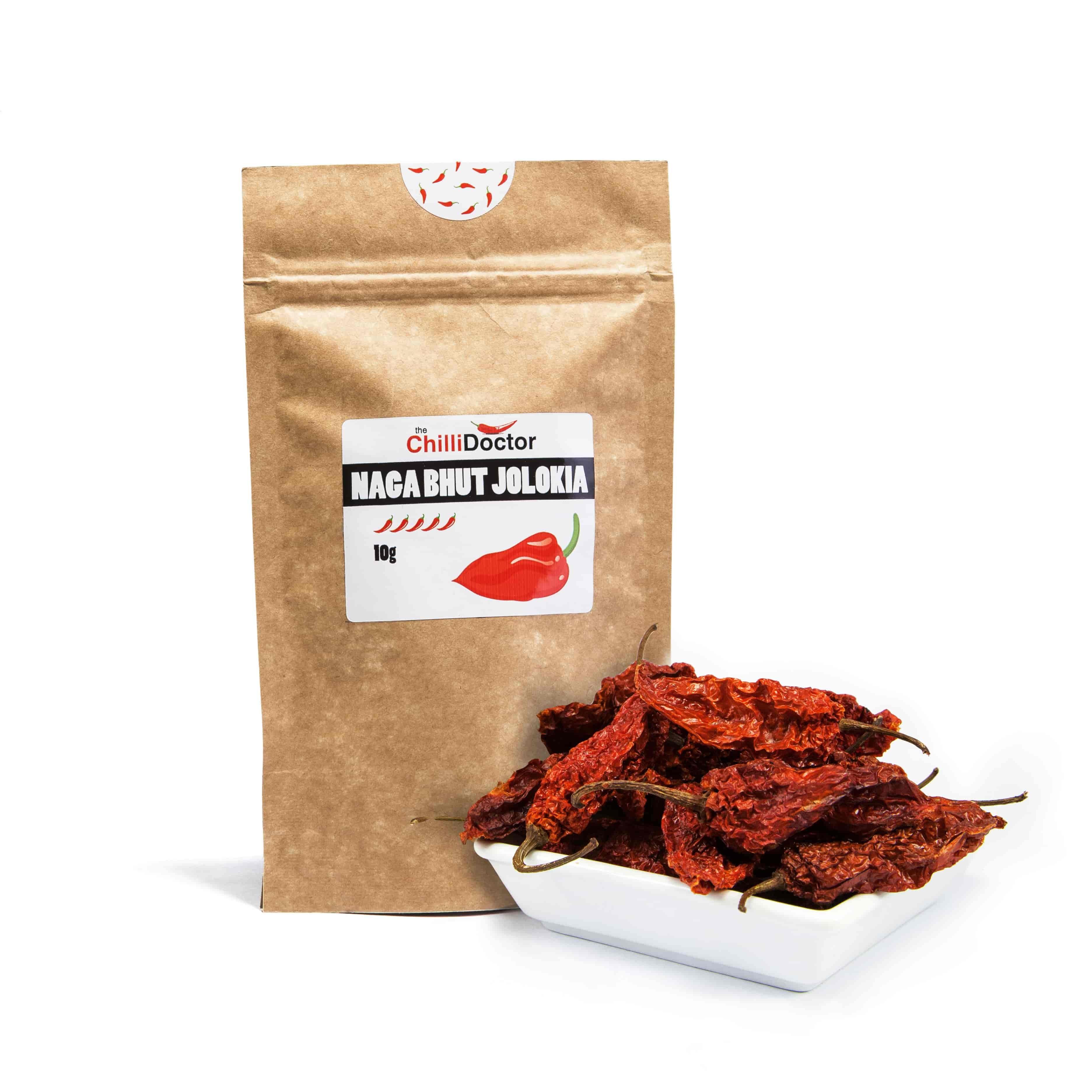 The chilli Doctor Naga Bhut Jolokia celé sušené 10 g
