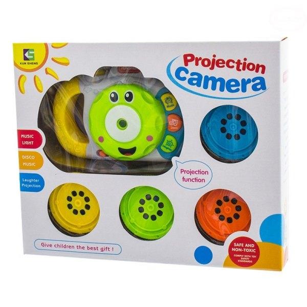 Edukační hračka Fotoaparát se zvukem a světlem
