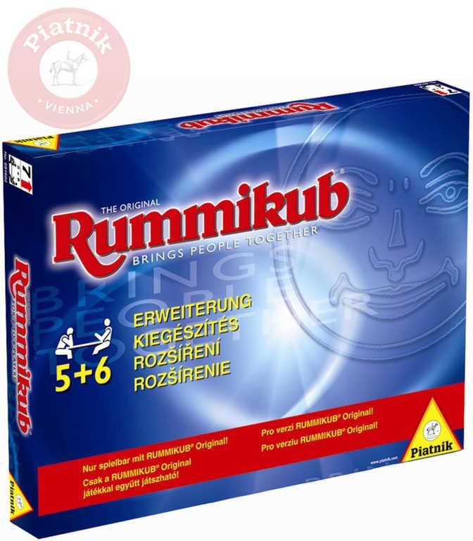 PIATNIK Hra Rummikub original rozšíření *SPOLEČENSKÉ HRY*