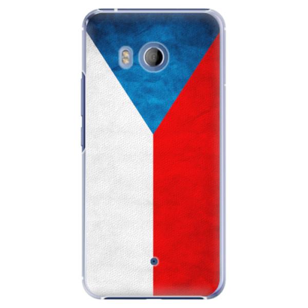 Plastové pouzdro iSaprio - Czech Flag - HTC U11