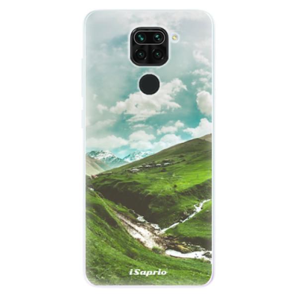 Odolné silikonové pouzdro iSaprio - Green Valley - Xiaomi Redmi Note 9