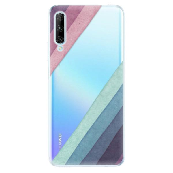 Odolné silikonové pouzdro iSaprio - Glitter Stripes 01 - Huawei P Smart Pro