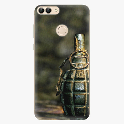 Silikonové pouzdro iSaprio - Grenade - Huawei P Smart