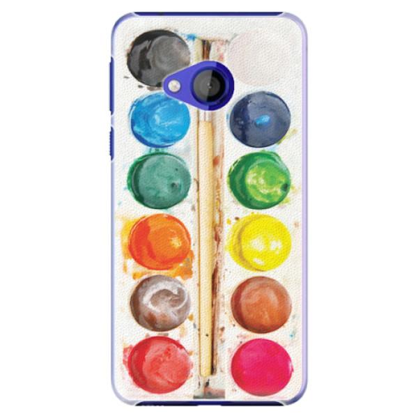 Plastové pouzdro iSaprio - Watercolors - HTC U Play