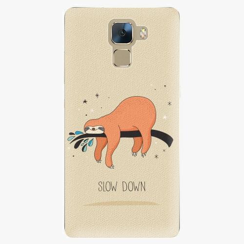 Plastový kryt iSaprio - Slow Down - Huawei Honor 7