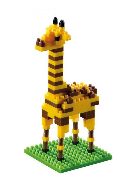 Stavebnice Brixies Žirafa