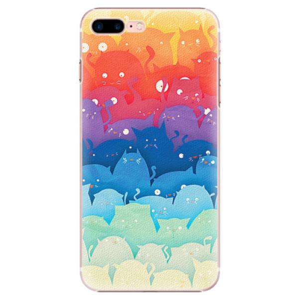 Plastové pouzdro iSaprio - Cats World - iPhone 7 Plus
