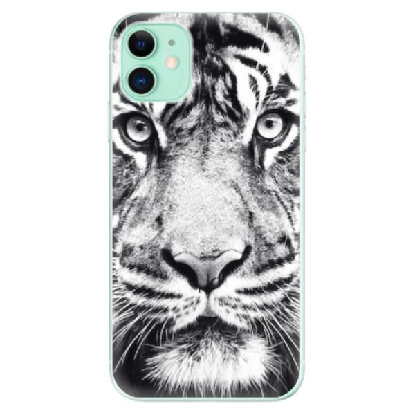 Odolné silikonové pouzdro iSaprio - Tiger Face - iPhone 11