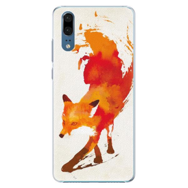 Plastové pouzdro iSaprio - Fast Fox - Huawei P20