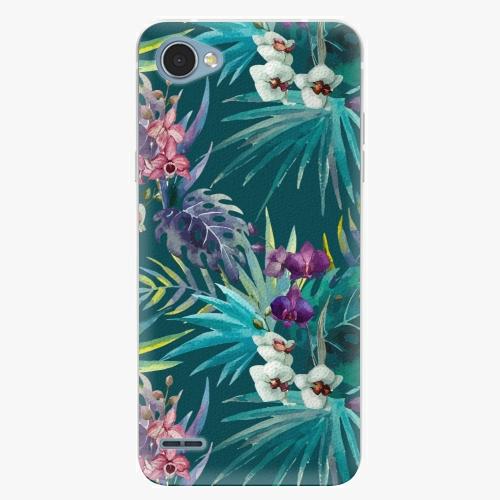 Plastový kryt iSaprio - Tropical Blue 01 - LG Q6