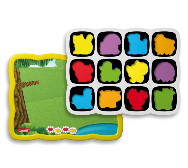 Quercetti Smart Puzzle magnetico Farm 0230