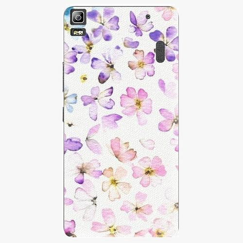 Plastový kryt iSaprio - Wildflowers - Lenovo A7000