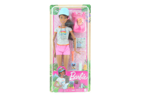 Barbie Wellness panenka turistka GRN66
