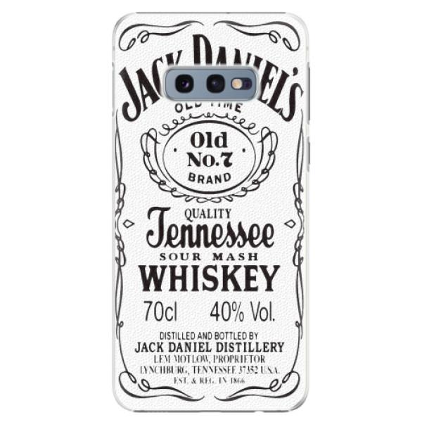 Plastové pouzdro iSaprio - Jack White - Samsung Galaxy S10e