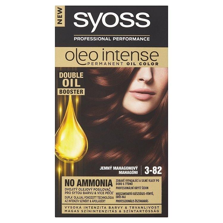 Oleo Intense barva na vlasy Jemný mahagonový 3-82