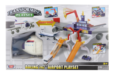 Herní set Boeing 747