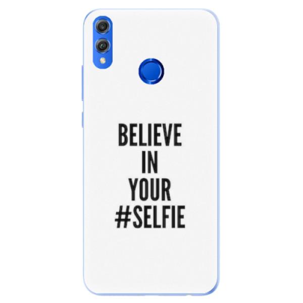 Silikonové pouzdro iSaprio - Selfie - Huawei Honor 8X