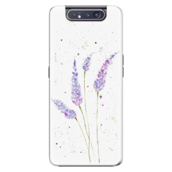 Plastové pouzdro iSaprio - Lavender - Samsung Galaxy A80