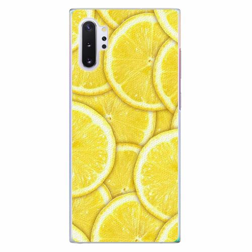 Plastový kryt iSaprio - Yellow - Samsung Galaxy Note 10+