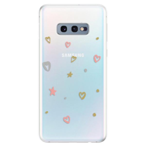 Odolné silikonové pouzdro iSaprio - Lovely Pattern - Samsung Galaxy S10e