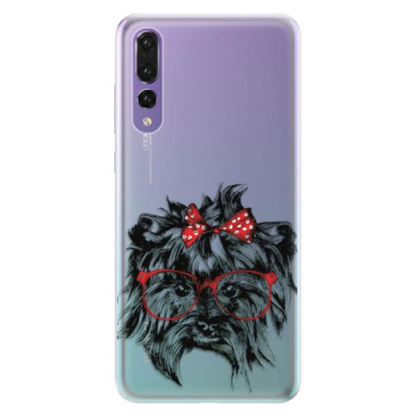 Silikonové pouzdro iSaprio - Dog 03 - Huawei P20 Pro