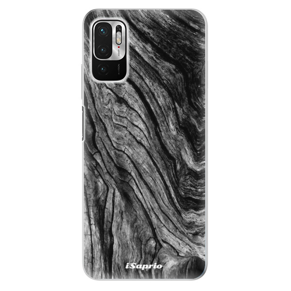 Odolné silikonové pouzdro iSaprio - Burned Wood - Xiaomi Redmi Note 10 5G