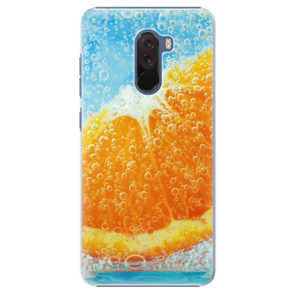 Plastové pouzdro iSaprio - Orange Water - Xiaomi Pocophone F1
