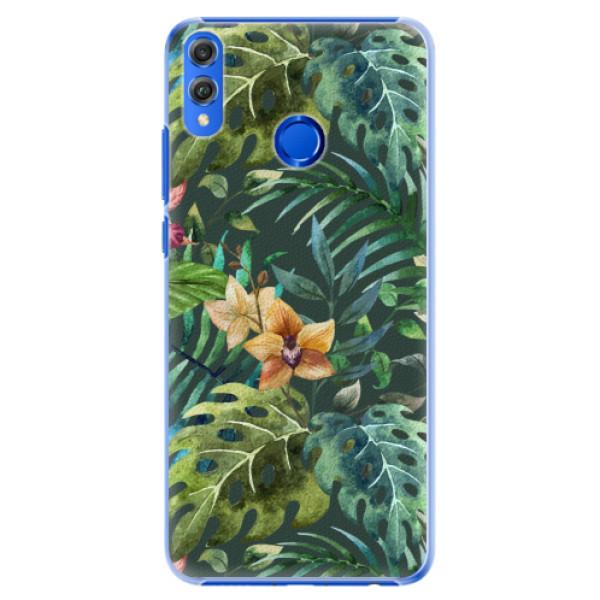 Plastové pouzdro iSaprio - Tropical Green 02 - Huawei Honor 8X