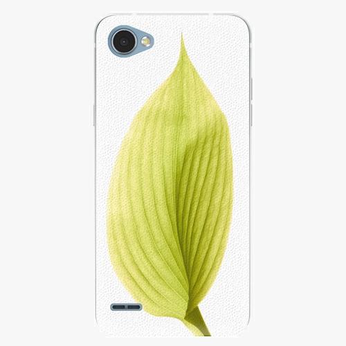 Plastový kryt iSaprio - Green Leaf - LG Q6