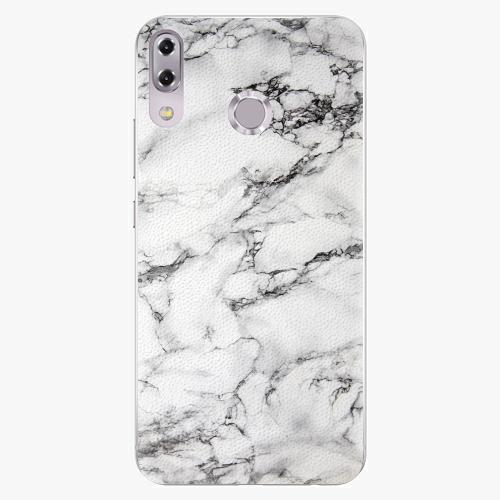 Plastový kryt iSaprio - White Marble 01 - Asus ZenFone 5Z ZS620KL
