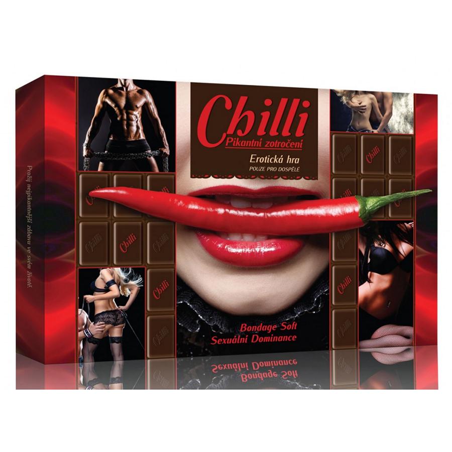 Erotická hra - Chilli Pikantní zotročení
