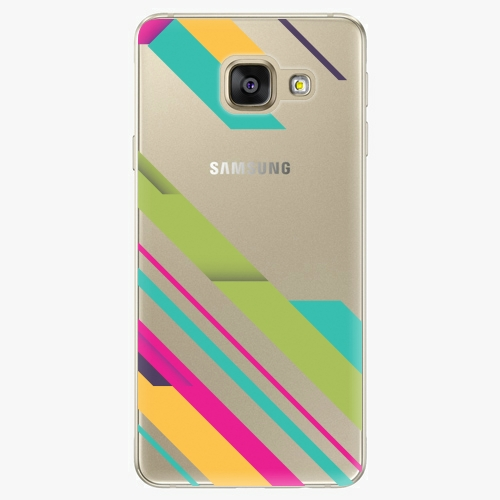 Plastový kryt iSaprio - Color Stripes 03 - Samsung Galaxy A5 2016