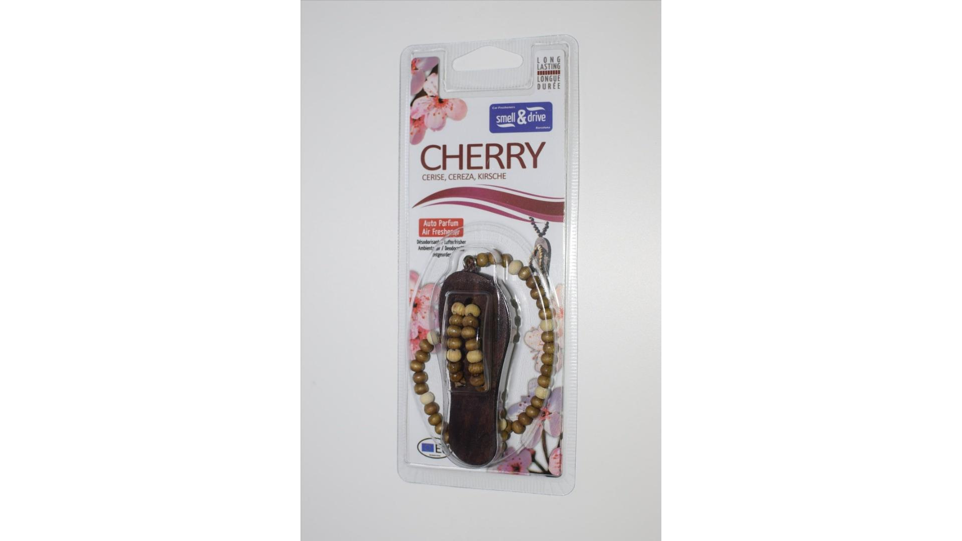 SMELL & DRIVE Flip flop cherry
