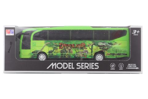 Autobus kovový na baterie