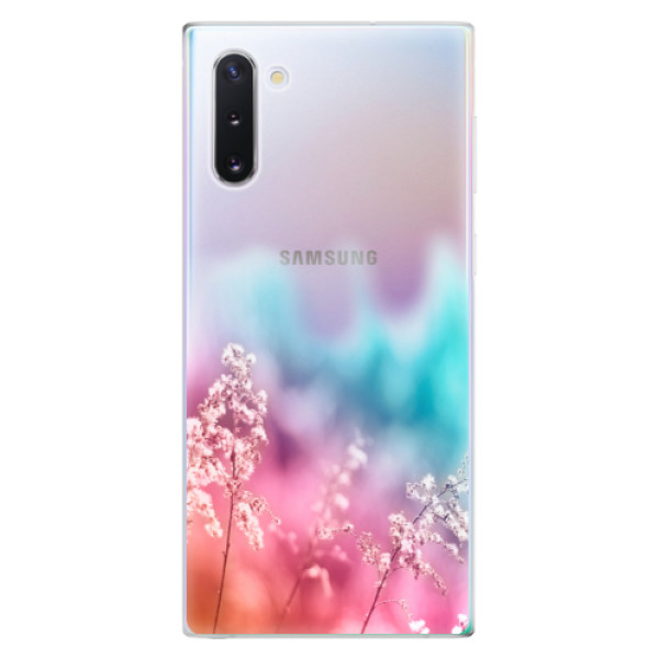 Odolné silikonové pouzdro iSaprio - Rainbow Grass - Samsung Galaxy Note 10