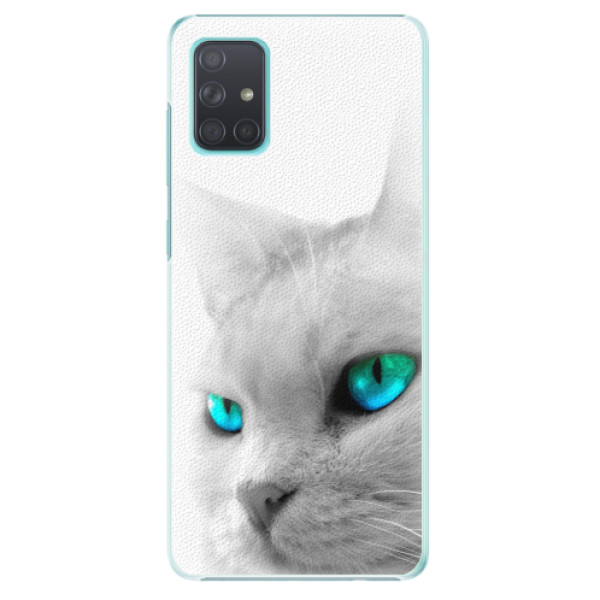 Plastové pouzdro iSaprio - Cats Eyes - Samsung Galaxy A71