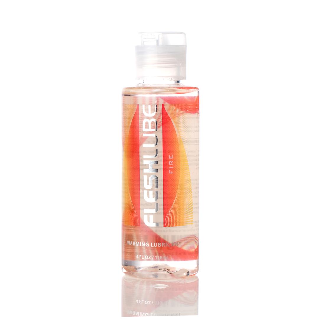 Fleshlight Fleshlube Fire na vodní bázi s hřejivým účinkem 100 ml