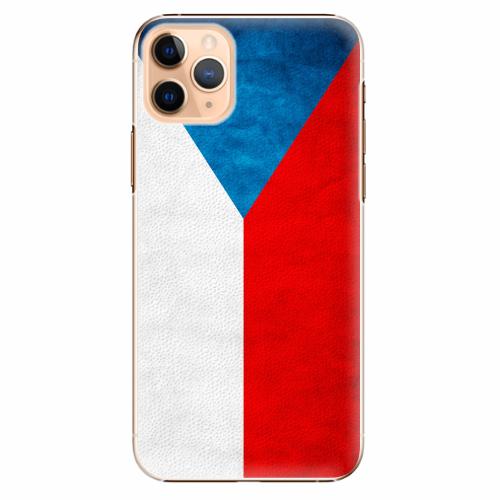 Plastový kryt iSaprio - Czech Flag - iPhone 11 Pro Max